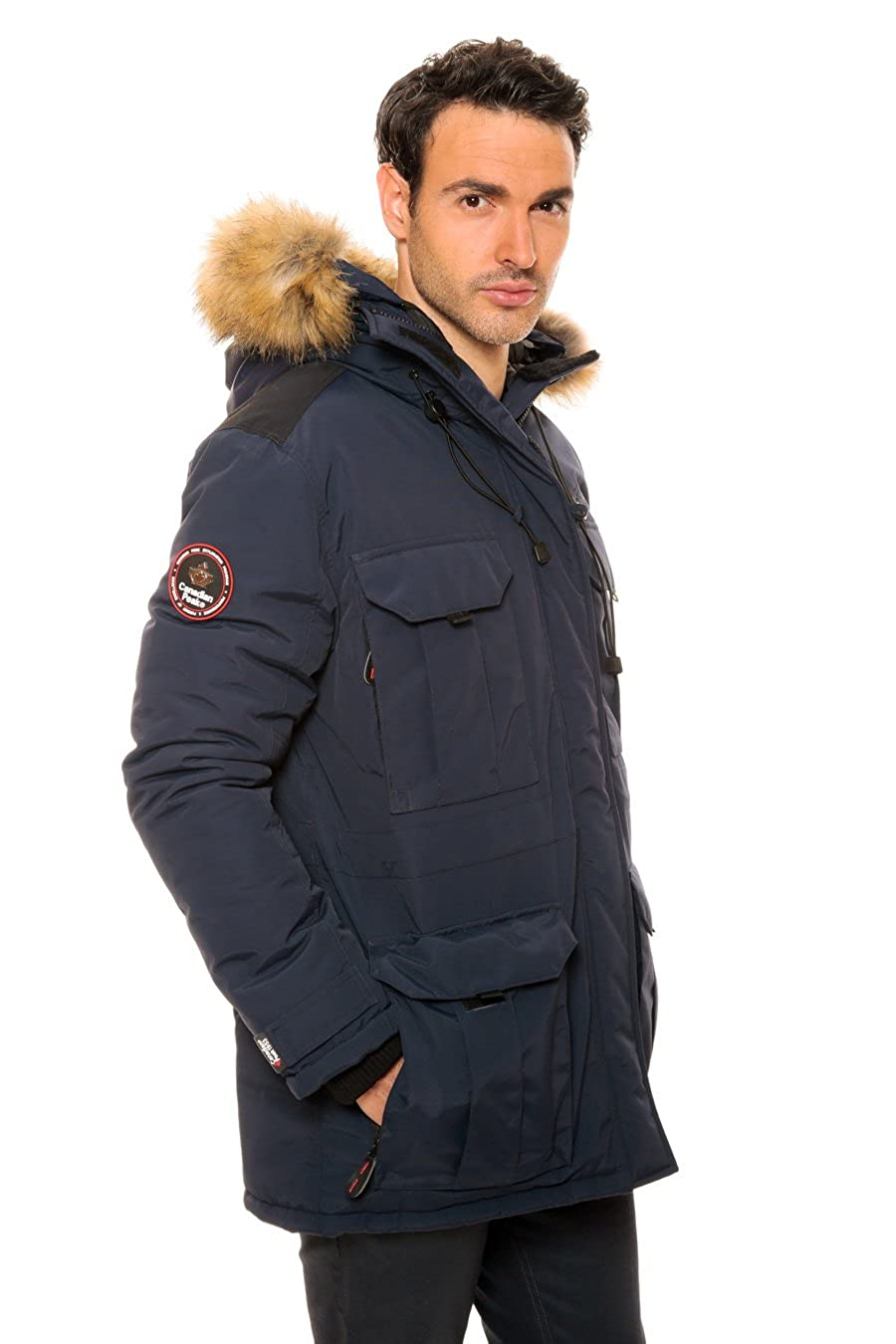 popular brand 50% off better Canadian Peak - Parka Ascoli Marine-Taille - XXXL: Amazon.fr ...