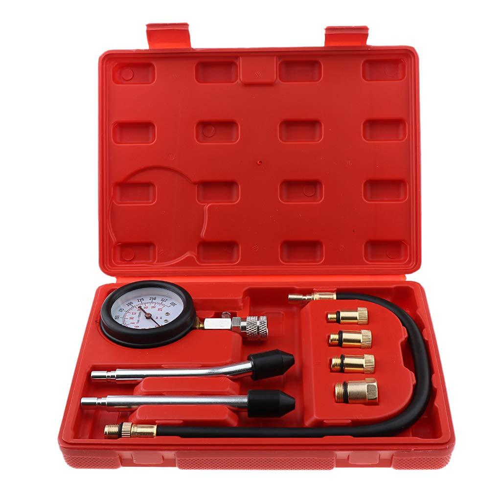pr/üfen me/ßen Kfz M2-M18 Shiwaki 1 Kit Kompressionspr/üfer Kompressionstester Motor