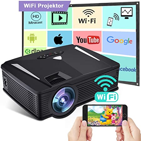 Vídeo proyector, Weton 1080P Full HD proyector de vídeo Mini ...