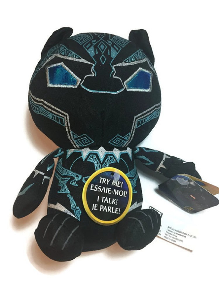 Marvel Black Panther Talking 8 inch Plush Figure