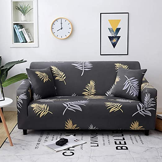 Amazon.com: Fundas de sofá elásticas, 3 fundas de cojín para ...
