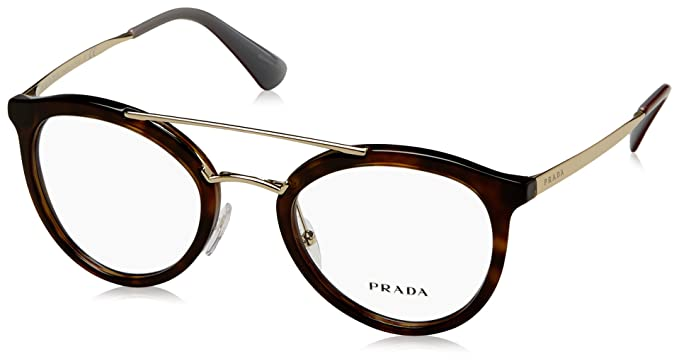 7daa5c11ef Prada Women s PR 15TV Eyeglasses 50mm at Amazon Women s Clothing store