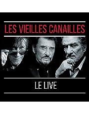 LES VIEILLES CANAILLES - L'ALBUM LIVE (2CD)