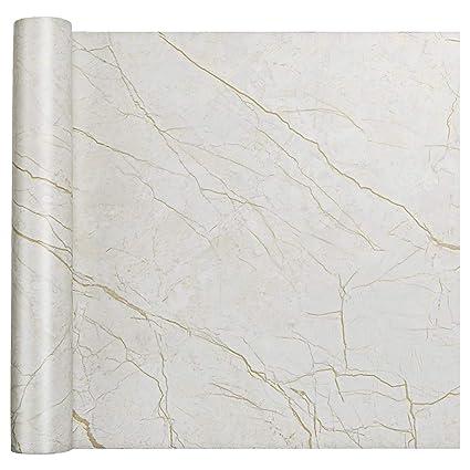 Homein Adhesivo para Muebles de Cocina Vinilo Papel Decorativa Pegatina Marmol PVC Material, para Pared