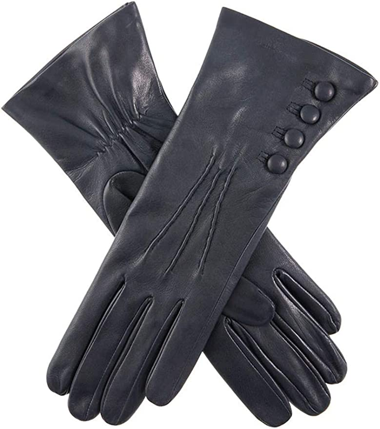 Vintage Style Gloves- Long, Wrist, Evening, Day, Leather, Lace Dents Womens Rose Gloves £74.95 AT vintagedancer.com