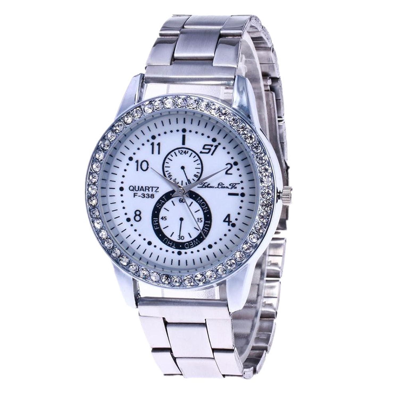 ROUNT Watch、Sinma Lovers 'シンプルカジュアル腕時計アナログクォーツPUレザー手首腕時計 B071CVYP2S