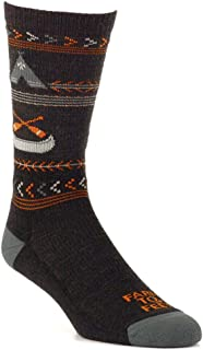 product image for Farm to Feet Women's Franklin Lightweight Merino Wool Crew Socks