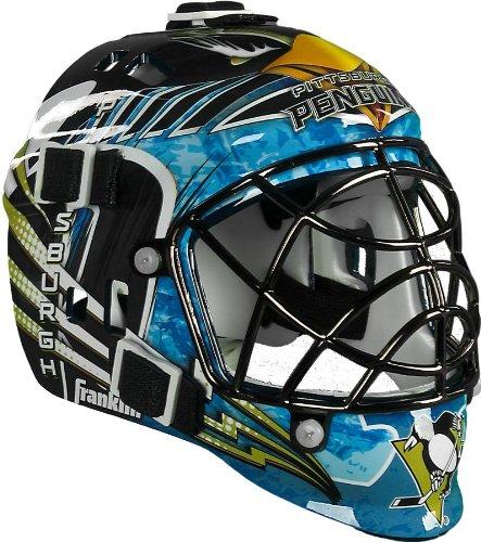 Amazon Com Franklin Sports Pittsburgh Penguins Mini Goalie Mask