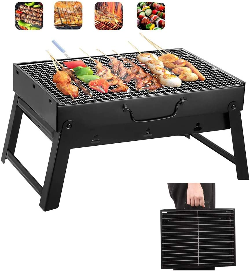 Yahpetes Portable Charcoal Grill 13.78