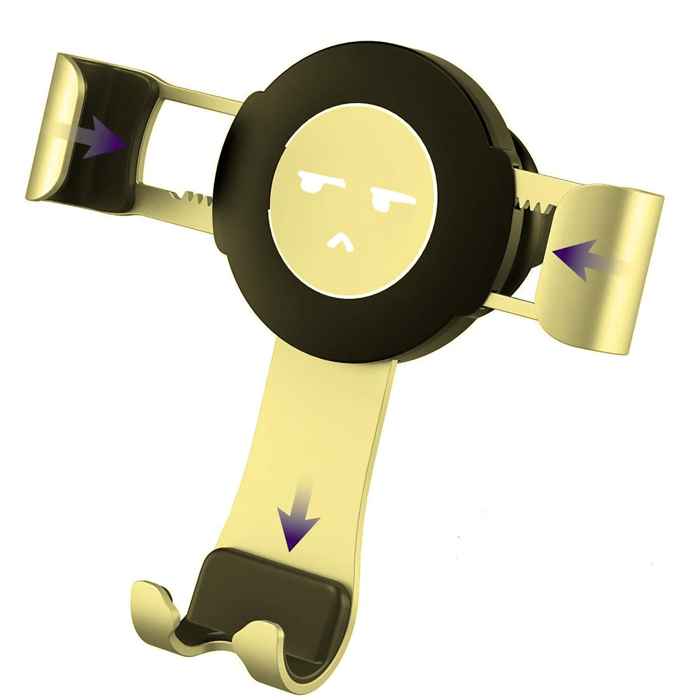 Bingo Trade Car Phone Holder, vehiclebracket. gravitysensor. ventilationopening. For iPhone X / 8/8 Plus / 7/7 Plus / 6 / 6S,samsung Galaxy S8 / S7 / S6 (black) A089