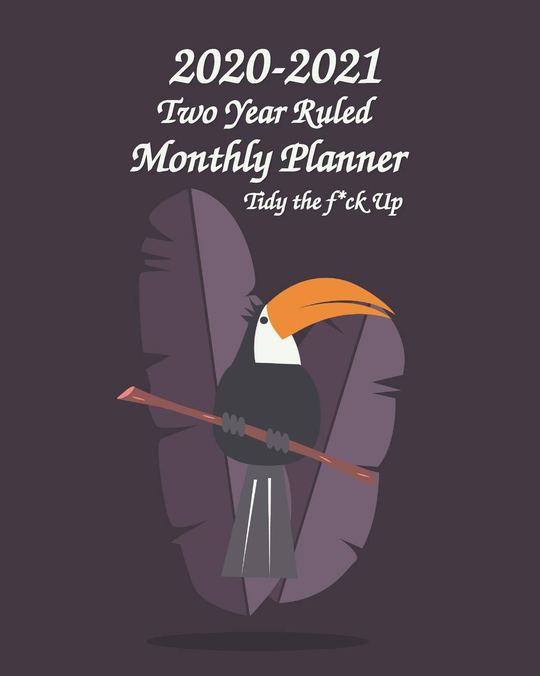 Amazon.com: 2020-2021 Two Year Ruled Monthly Planner Tidy ...