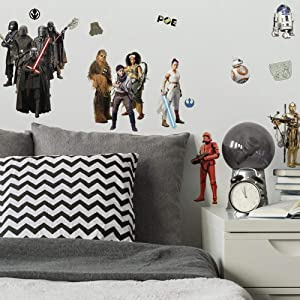 RoomMates Star Wars Episode IX Peel and Stick Wall Decals