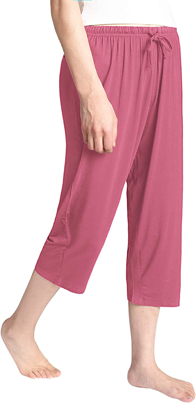 Latuza Womens Knit Capris Sleepwear