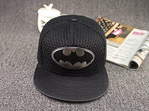 WEARZONE Boys and Girls Flat-brimmed Hat Batman Hip-hop Skateboard Baseball...