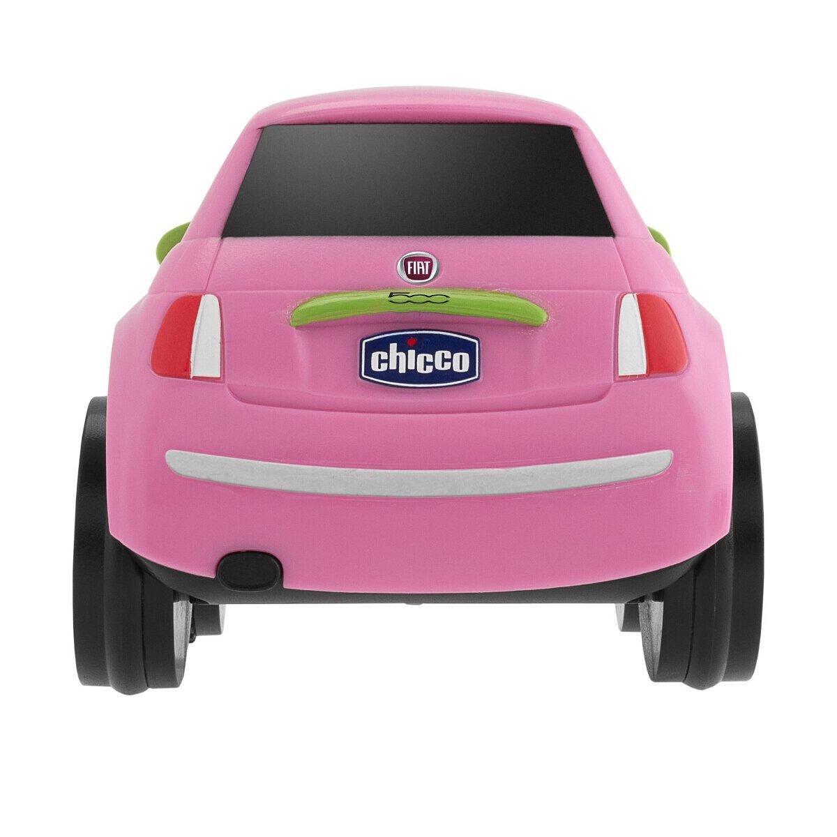Chicco Fiat 500 Turbo Touch, alcanza hasta los 10 Metros, Color Rosa: Amazon.es: Juguetes y juegos