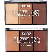 Kit Com 2 Paletas De Contorno Flawless Iamo