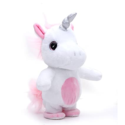 Amazon Com Woodyotime Moving And Talking Unicorn Toys Repeats What