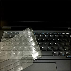 Laptop Keyboard Cover Skin for Dell Latitude E6440 E6430 E6420 E6320 E6330 E6220 E6230 E5430 E5420 E7440 E7240 E5440 E7450 E7470,E7480