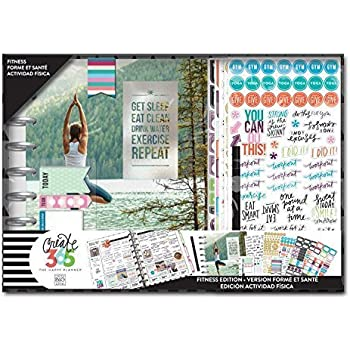 The Happy Planner 12 Month Box Kit - Fitness Edition
