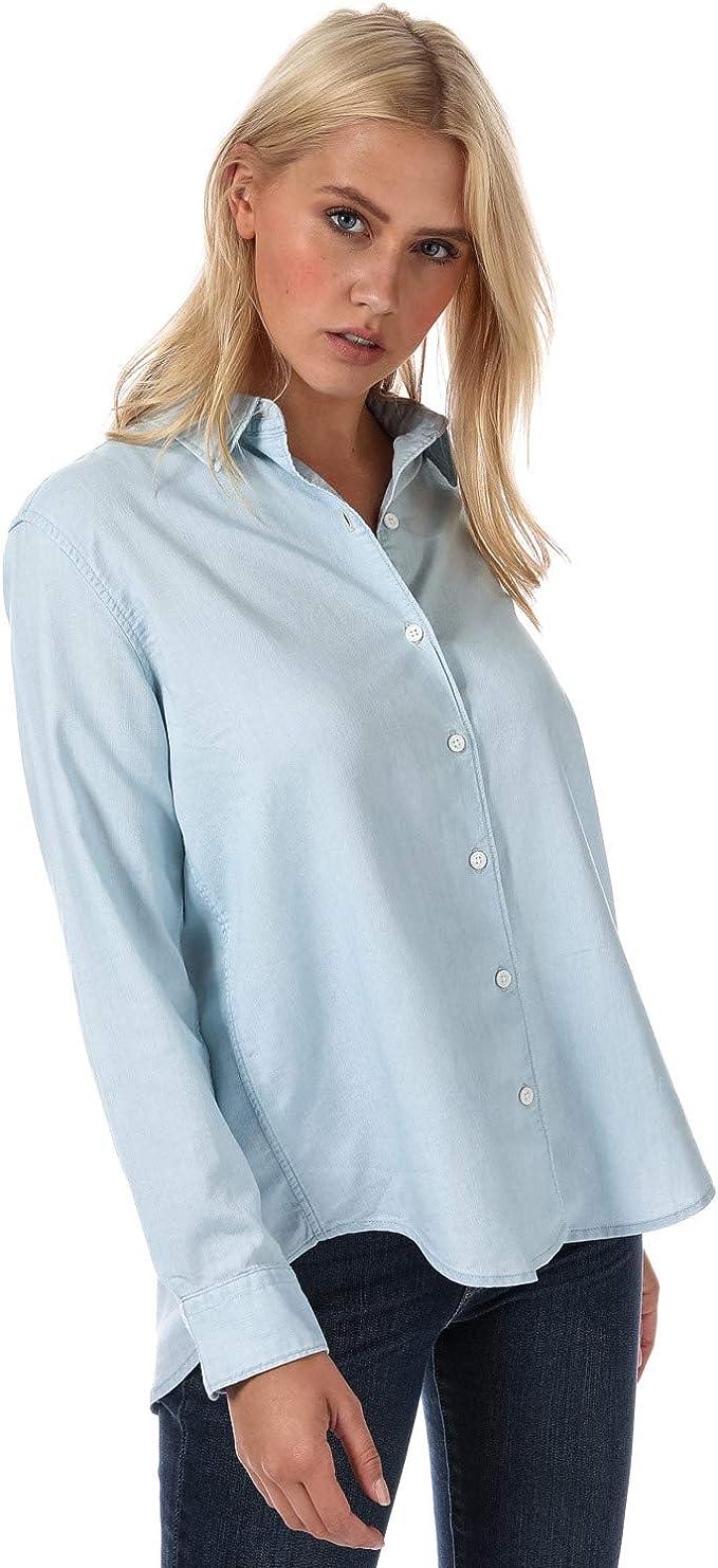 Levis Avery Shirt Blusa, Azul (Medium Light Wash 0000), X-Small para Mujer: Amazon.es: Ropa y accesorios
