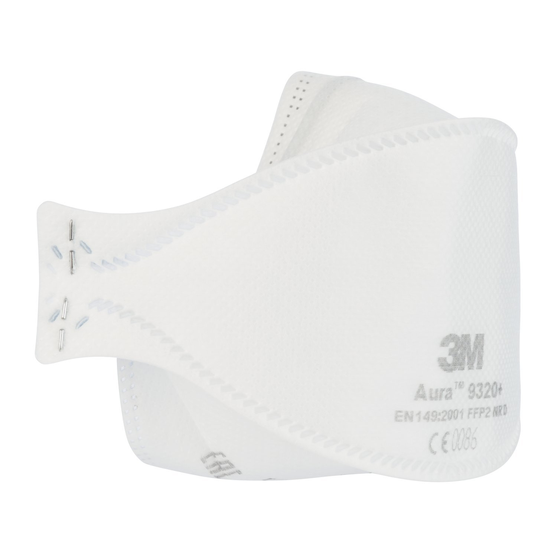 3m mascherina aura comfort respiratore per polveri