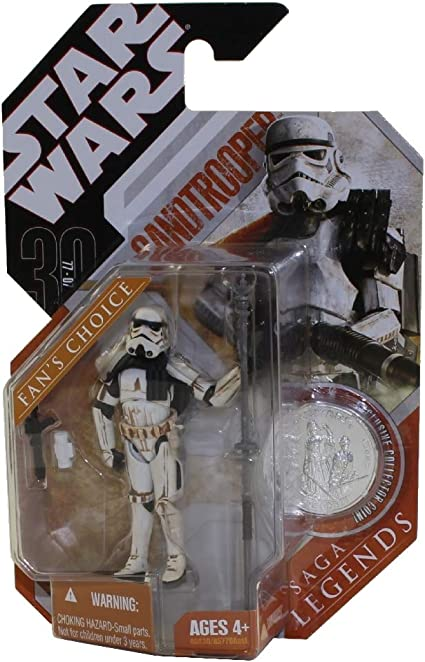 Basic Figure The Saga Collection Sandtrooper Star Wars