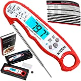 Kizen Instant Read Meat Thermometer - UPGRADED WITH FASTER PROBE,...