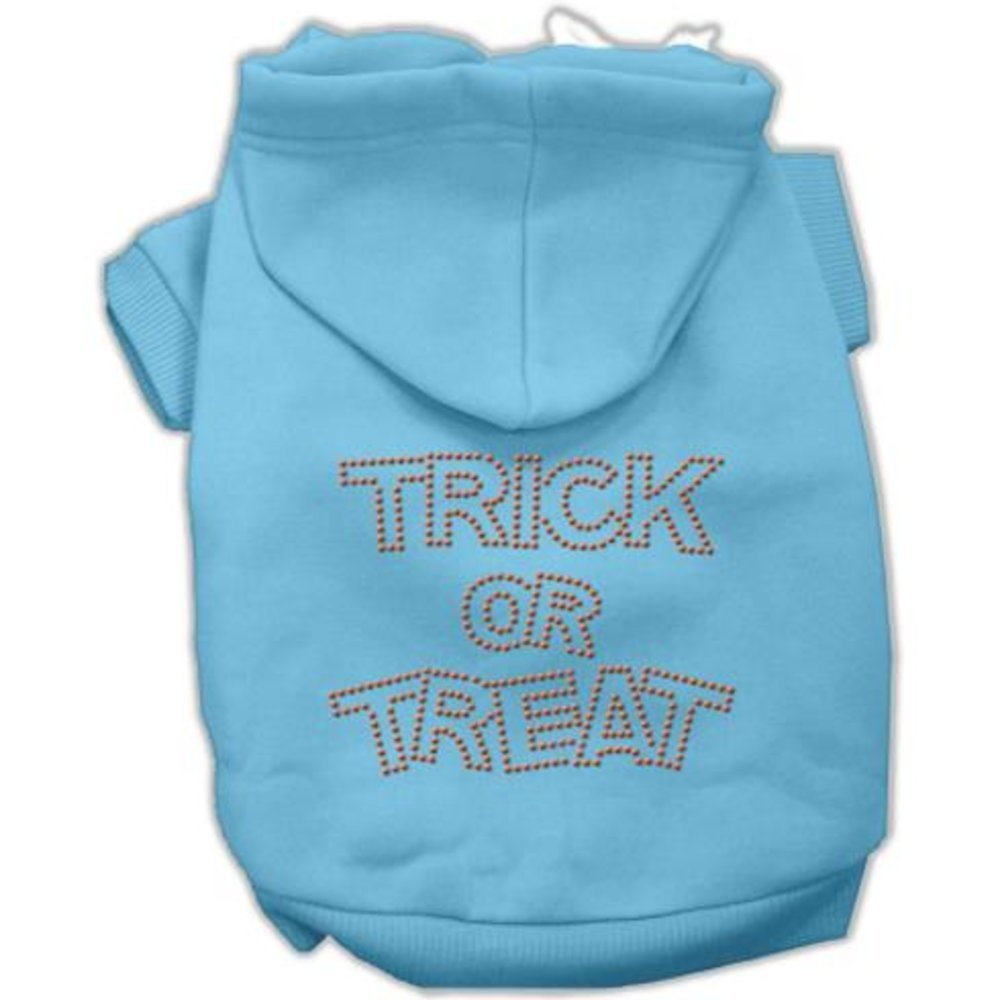 Mirage Pet Trick Or Treat Rhinestone Dog Hoodie