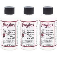 Angelus Preparador de Cuero y desesmaltadoras 4 Oz (Pack de 3)