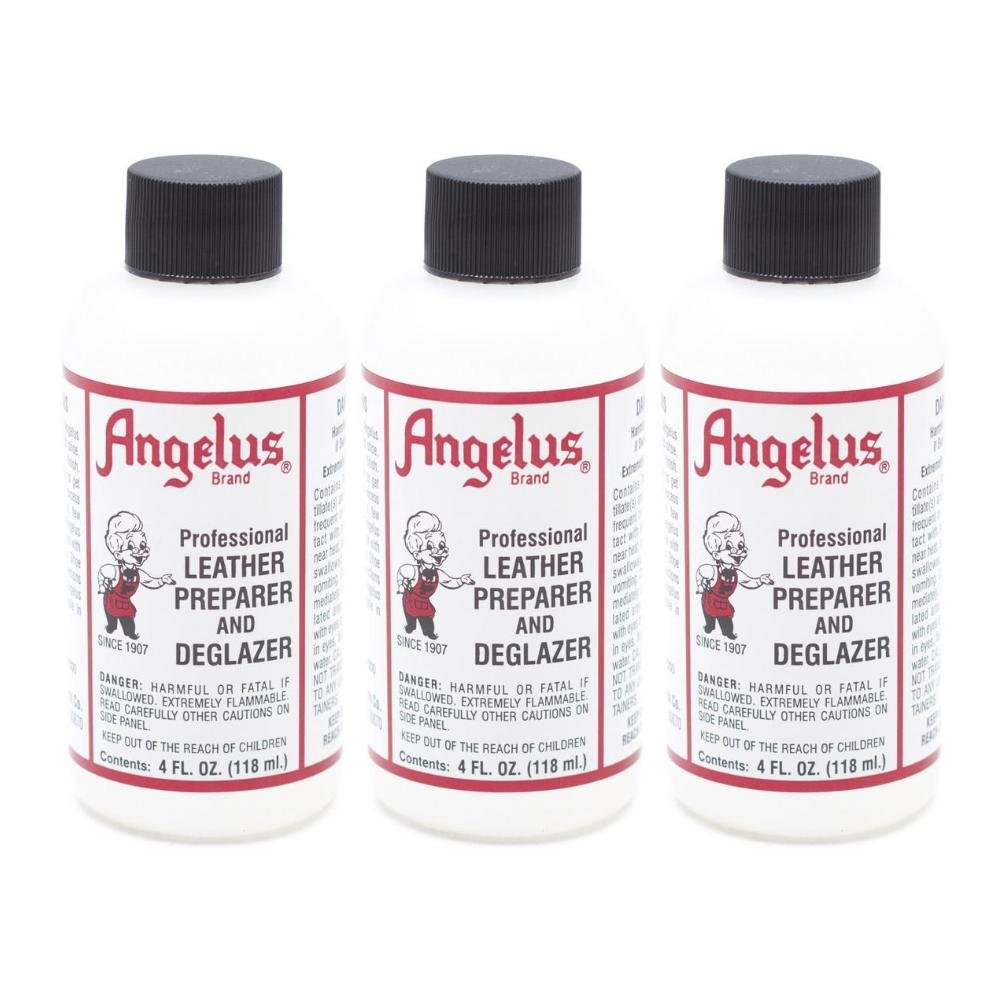 Angelus Leather Preparer \u0026 Deglazer 4