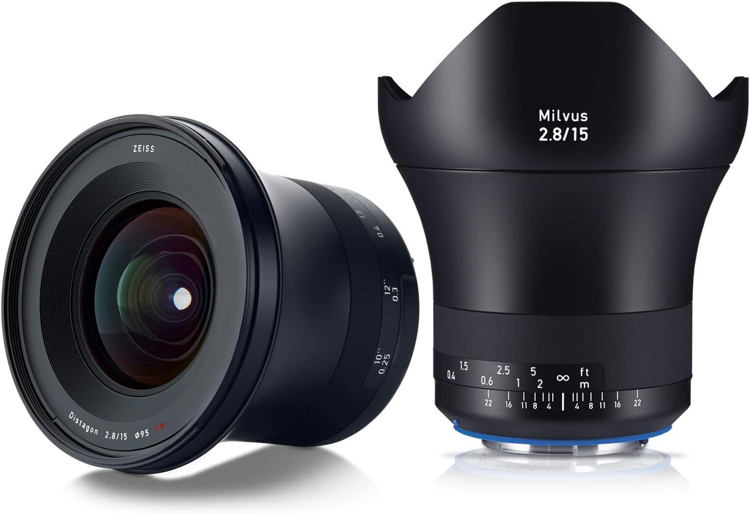 Zeiss Milvus 2 8 15 Ze Objektiv Für Canon Elektronik