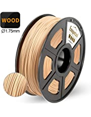 Enotepad Legno Filamento,Filamenti per Stampanti 3D,Precisione Dimensionale +/- 0,02 mm,1kg/bobina, (WOOD)
