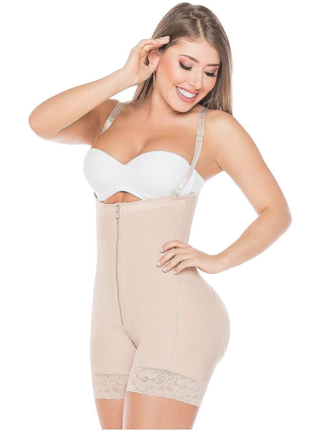 d291fecac5 Salome 0215 Women Strapless Bodysuit Shaper Fajas Reductoras y Moldeadoras  at Amazon Women s Clothing store