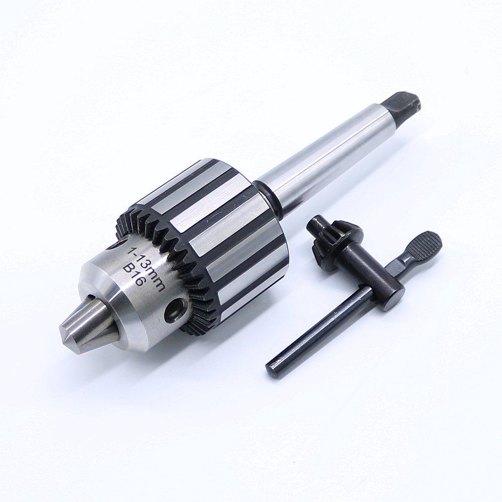 Carburo acciaio MT2 B16/1 –  13 mm mandrino tornio self Tighten codolo conico mandrino PANINA