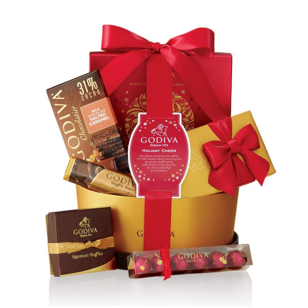 Godiva Chocolatier Holiday Cheer Gift Basket