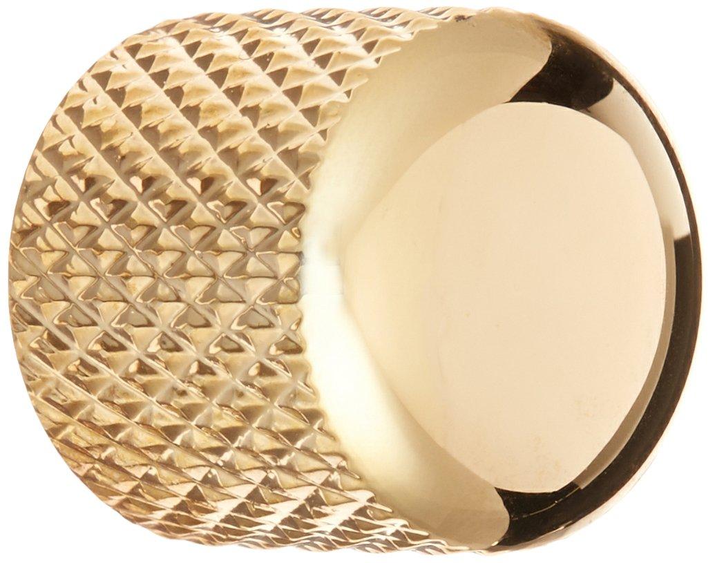 WD Music BBKG Brass Dome Knob - Gold