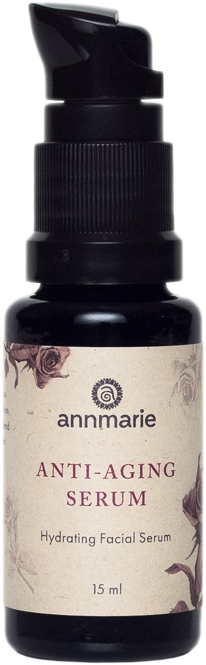 Annmarie Skin Care Anti-Aging Serum - Hyaluronic Acid Serum with Rose Distillate + Life Everlasting Flower Extracts (15 Milliliters, 0.5 Fluid Ounces)