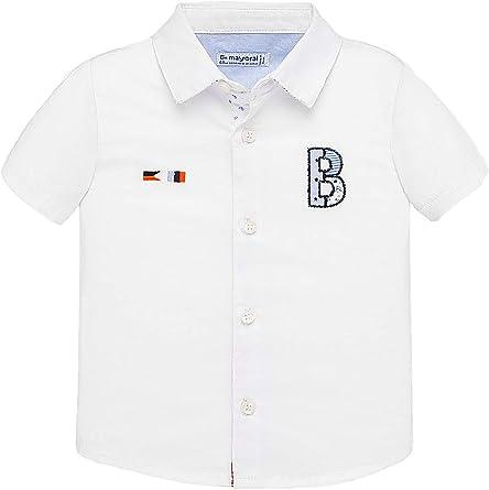 Mayoral, Camisa para bebé niño - 1160, Blanco: Amazon.es: Ropa
