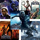 Black Panther Movie Stickers - Prizes and Giveaways - 100 per Pack