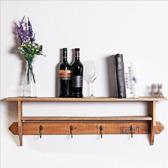 GYP Retro Home Pylon 3 Ebenen Holz Schraube Eingebettete Küche Regal Lagerung Rack kaufen ( Farbe : #1 )