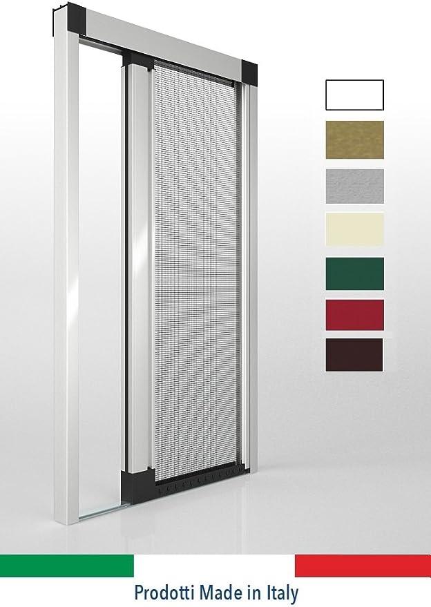 OR Tende - Mosquiteras para láminas de ventanas, mosquitera lateral modelo enrollable sin guía inferior, personalizables: Amazon.es: Hogar