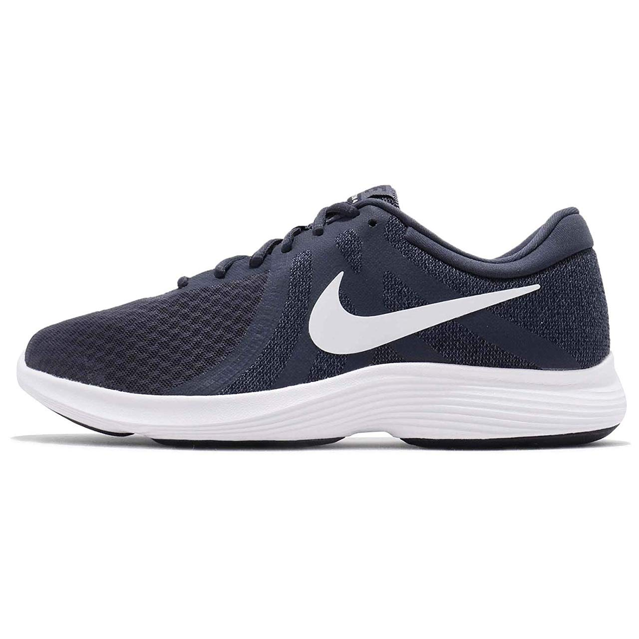 36920ce07aef NIKE Men s Revolution 4 Thunder Blue White Running Shoes (908988-402)  Buy  Online at Low Prices in India - Amazon.in