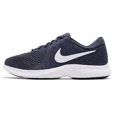 08668874d4f9b NIKE Men s Revolution 4 Thunder Blue White Running Shoes (908988-402) - 10