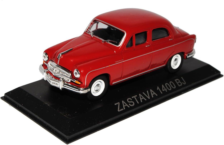 Unbekannt Zastava 1400 BJ Limousine Dunkel Rot 1//43 Modellcarsonline Modell Auto mit individiuellem Wunschkennzeichen