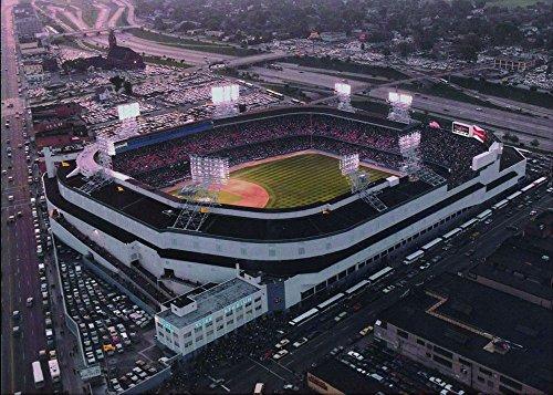 Canvas-Art-Print-Poster-Old-Tigers-stadium-Detroit-MI-20x28-inches-unframed