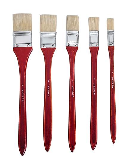 amazon com meeden 5 piece large area brushes hog bristle bright