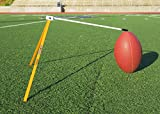 Kickoff! Football Holder --- Football Place Holder Kicking Tee -- Use with Foot ball Field Goal Post or Football Kicking Net (Orange and White)