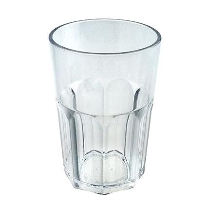 Set 6 Stück Mehrweg Glas Plastik DoimoFlair Longdrinkglas Kunststoff PC