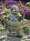 Medieval Friar Monk with Mug Garden Figure For Sale