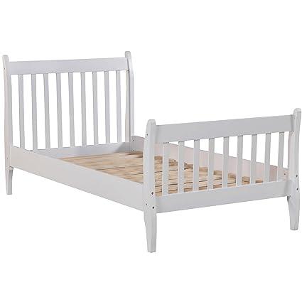 Amazon.com  Bed Frame Twin Hard Wood 77baf0bc8f